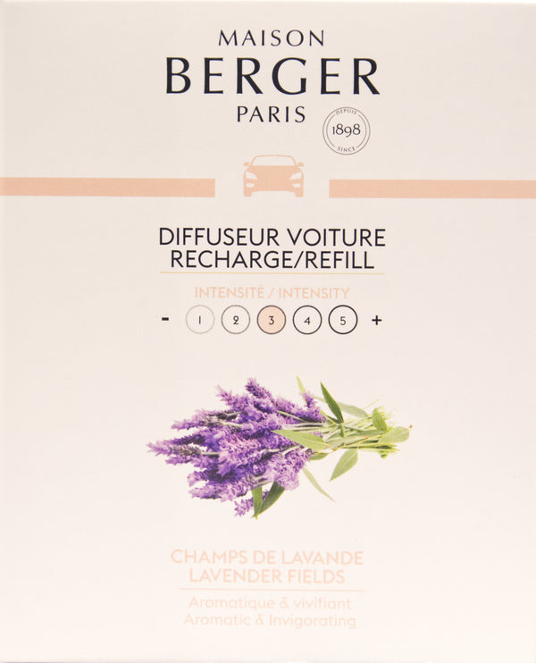 Lavender Fields Car Diffuser Refill – 2 Pack