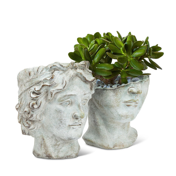 Male Head Planter