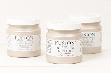 Fusion Mineral Paint - Metallic Champagne