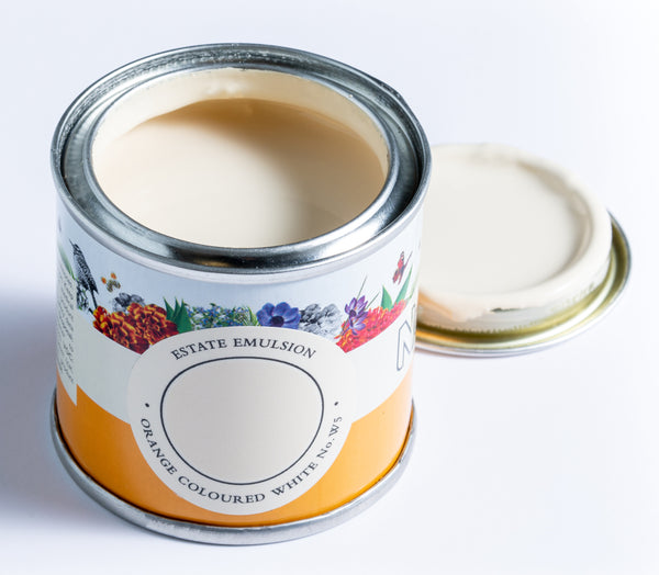 Farrow & Ball Paint - Orange Coloured White No. W5