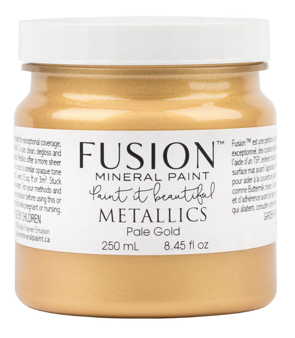 Fusion Mineral Paint - Metallic Pale Gold