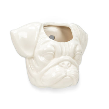 Pug Head Wall Planter