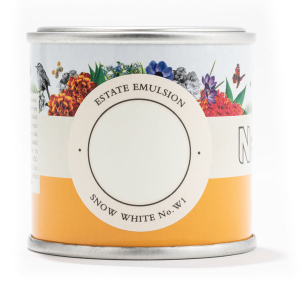 Farrow & Ball Paint - Snow White No. W1