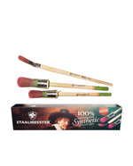 Staalmeester Pro-Hybrid 3 Brush Set