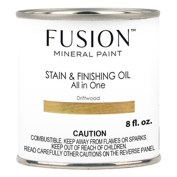 Fusion Stain & Finishing Oil - Driftwood