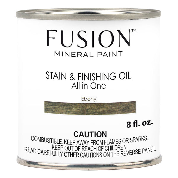Fusion Stain & Finishing Oil - Ebony