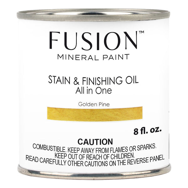 Fusion Stain & Finishing Oil - Golden Pine