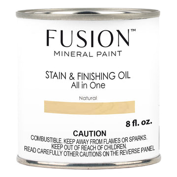 Fusion Stain & Finishing Oil - Natural