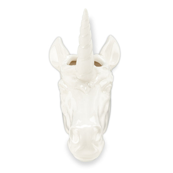 Unicorn Head Wall Planter