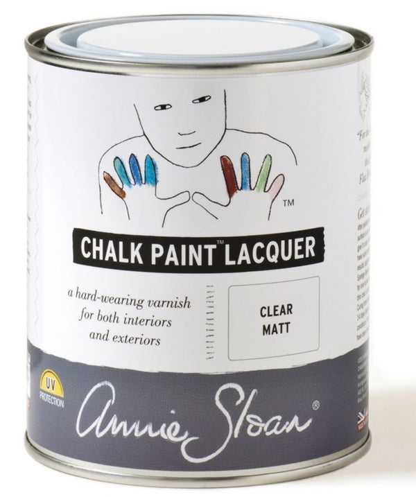 Chalk Paint Lacquer - Clear Matt
