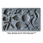 **NEW** IOD Mould - Sea Shells – Iron Orchid Designs