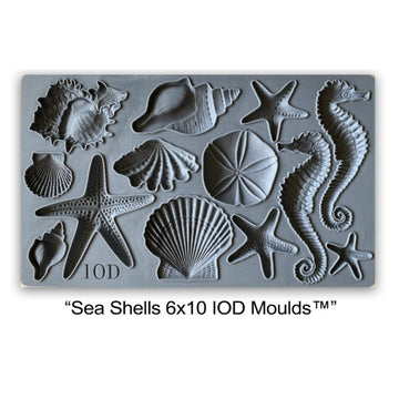 IOD Mould - Sea Shells