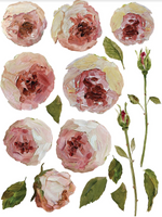 IOD Full Colour Transfer - Painterly Florals