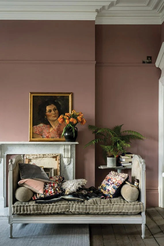Farrow & Ball Paint - Sulking Room Pink No. 295
