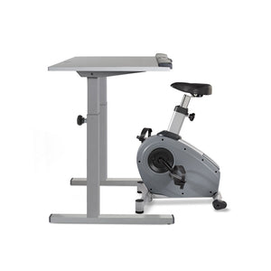 "Lifespan C3-DT5S Bike Desk w/38"" Gray Desktop"