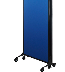 "QuickWall Fabric Folding Portable Partition- 5'10"" high x 7' wide"