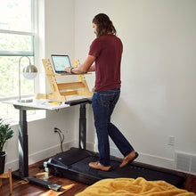 "Load image into Gallery viewer, Lifespan TR1200-DT7S W/48"" Gray Desktop Treadmill Desk"