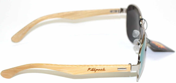 GnarPack No.28 Bamboo Aviator Sunglasses