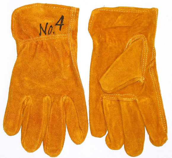 GnarPack No.4 - Youth Kids Cowhide Leather Gloves