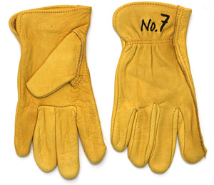 GnarPack No.7 - Youth Kids Pigskin Leather Gloves