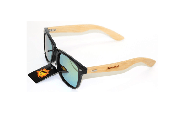 GnarPack No.10 Bamboo Mirrored Sunglasses