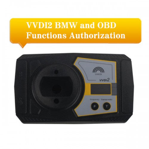 VVDI2 BMW OBD authorization