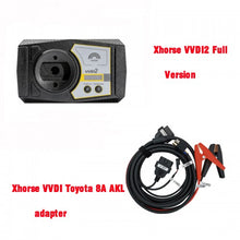 Load image into Gallery viewer, Xhorse VVDI2 Full Version + VVDI Toyota 8A All Keys Lost Adapter