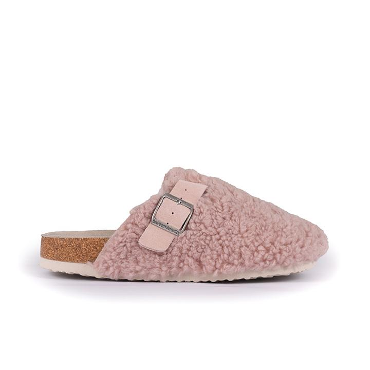 Miley - Borg Fleece Clog Slipper