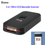Eyoyo Mini CCD Bluetooth Barcode Scanner