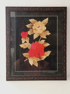 Bamboo Flower Photo Frame 18x14 Inches