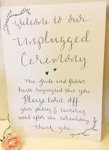 Load image into Gallery viewer, Hand Lettered Wedding Signs
