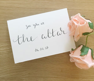 See you at the Alter card.