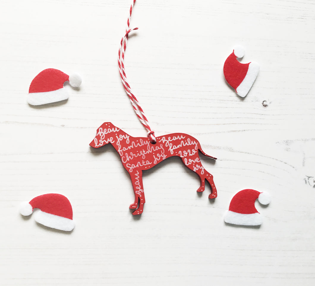 Rhodesian Ridgeback Christmas Decoration