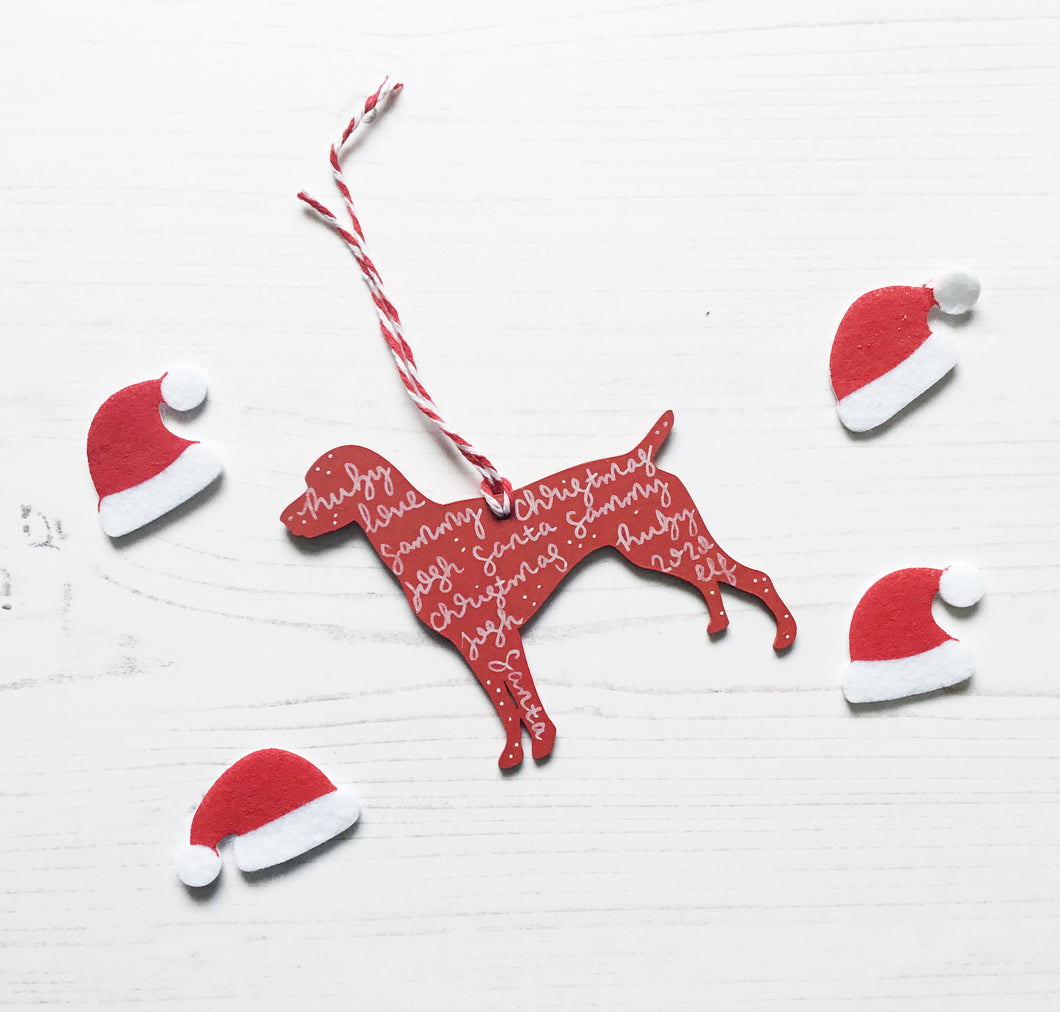 Pointer Christmas Decoration