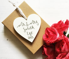 Load image into Gallery viewer, Wedding Gift Hanging Heart