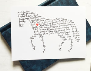 Horse Personalised Wall Art