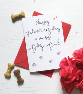 Valentine's Card from the Dog (Dog Dad)