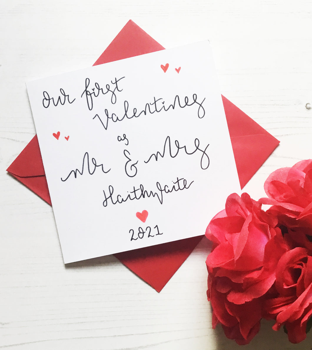 First valentines as Mr and Mrs | Mr & Mr | Mrs & Mrs