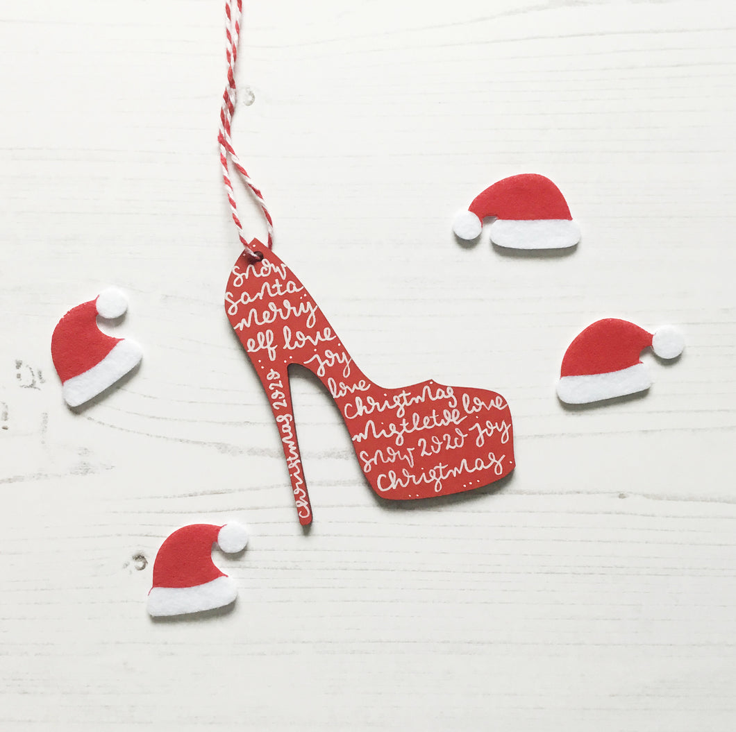 Stiletto Christmas Decoration