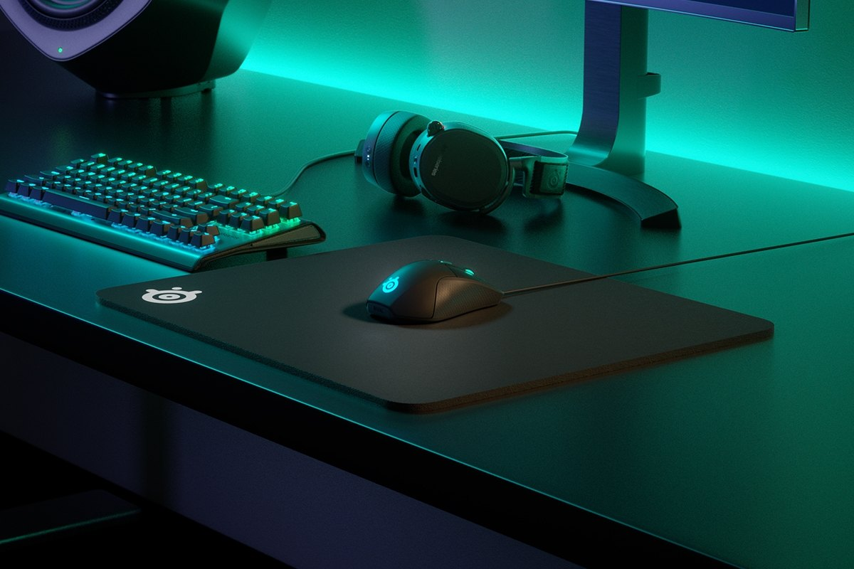 SteelSeries QCK HEAVY Cloth Gaming Mouse Pad