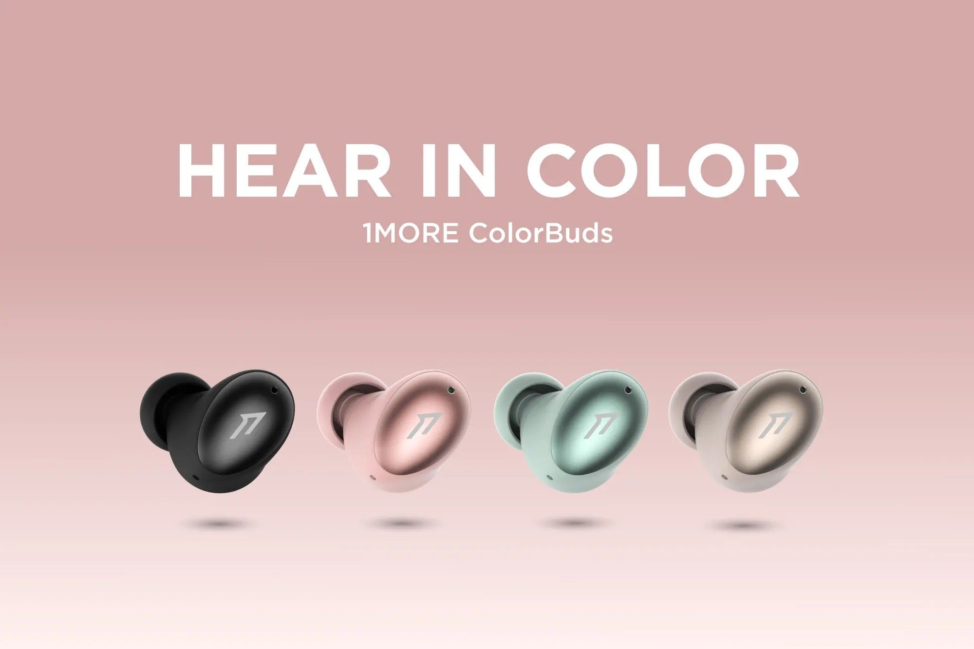 1More ColorBuds True Wireless Earbuds - Hear In Color