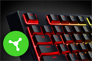 FULLY PROGRAMMABLE KEYS Game more efficiently by mapping your desired functions via Razer Synapse 3, and tweak the keyboard to suit your playstyle by creating and saving unique profiles and macros.