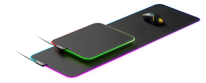 QcK Prism Cloth Series - Featuring the same legendary micro-woven cloth surface as the QcK, the QcK Prism Cloth Series features dynamic RGB illumination for effects and notifications, putting the final touch on your RGB setup.