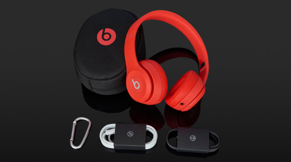 What is in the box when you get the Beats Solo 3 Wireless Headphones