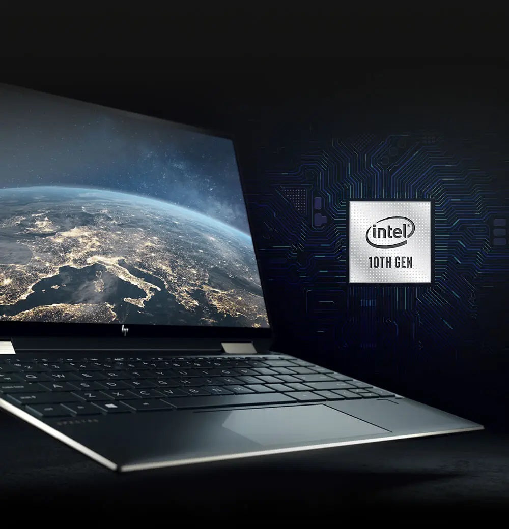 Incredible speed with 10th Gen Intel® Core™ processors