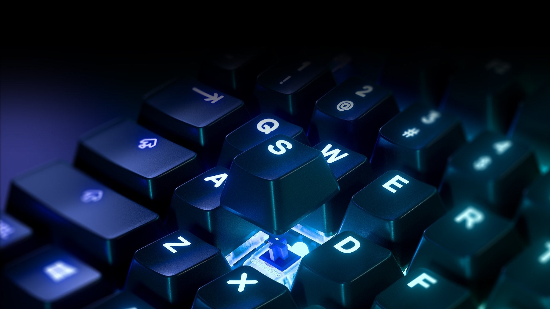 Durable Mechanical Gaming Switches - Guaranteed for 50 million keypresses using whichever ultra-fast switch type you prefer: red, blue, or brown.