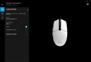 Logitech G203 Lightsync RGB Gaming Mouse - Easy Customization