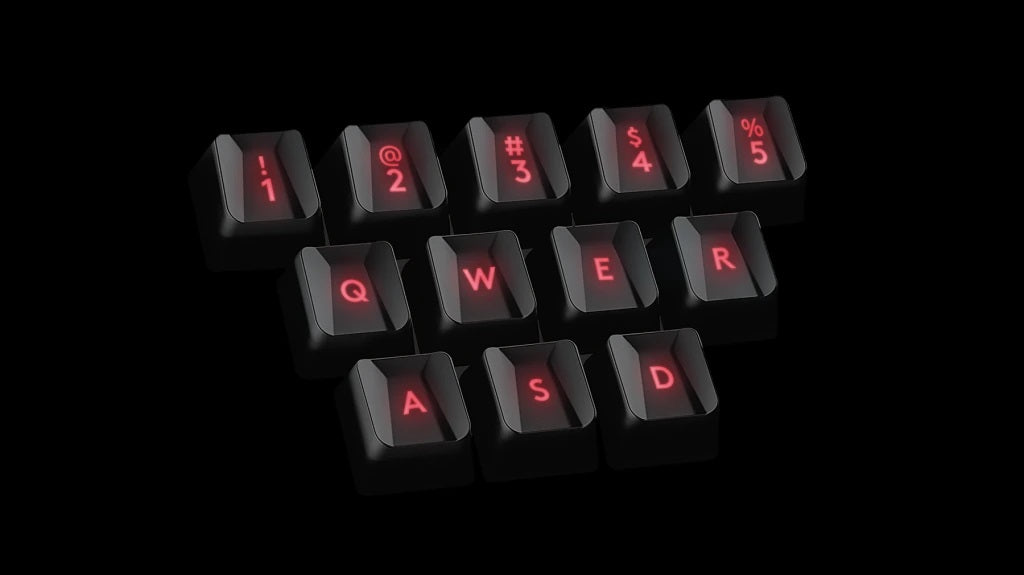 GAMING KEYCAPS - 12 faceted keycaps come with G413, so you can upgrade critical gaming keys to fit your favorite game or your favorite character. Swap them fast and easy with the included key puller.