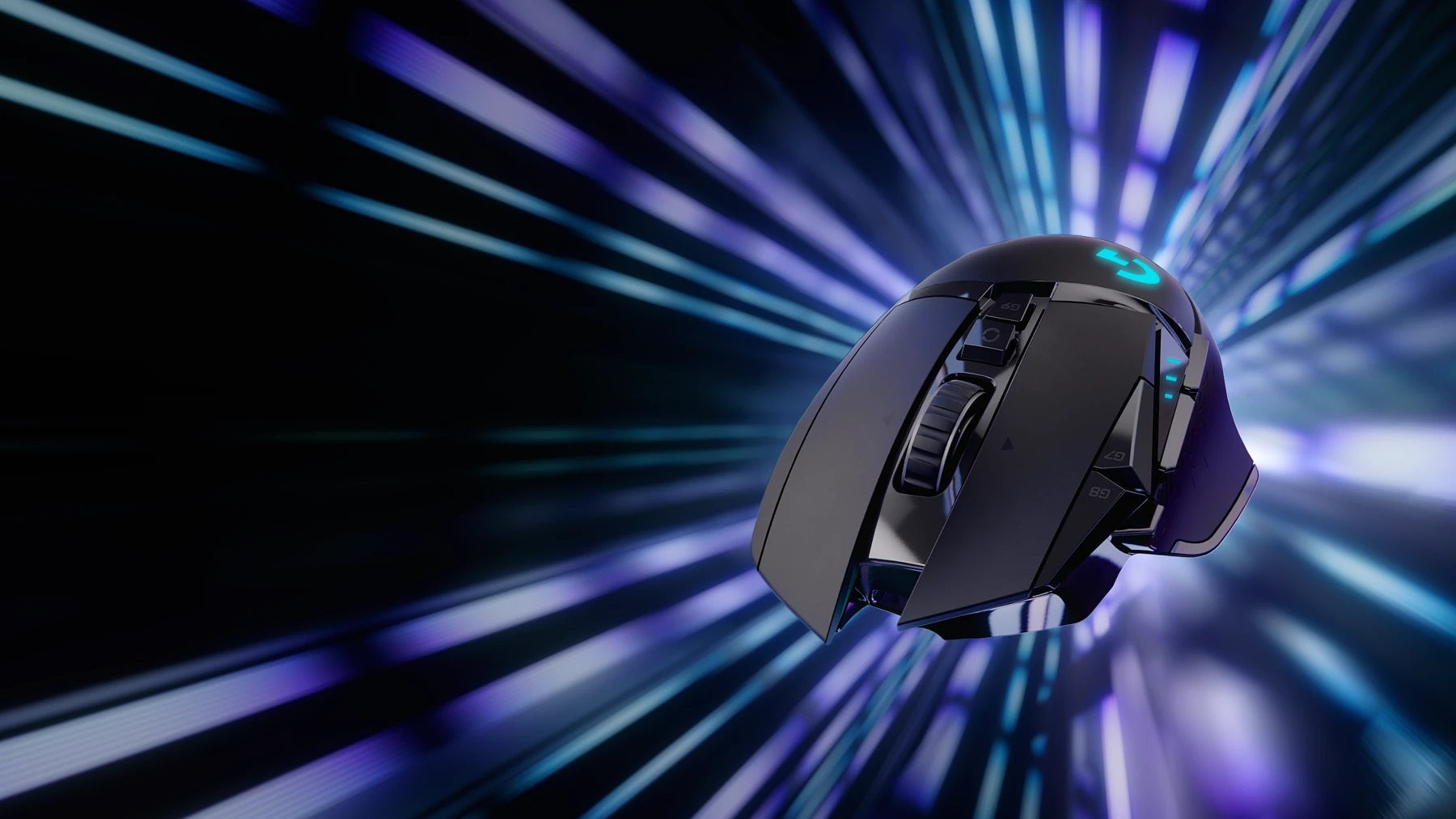 LIGHTSPEED WIRELESS - G502 is an icon, topping the charts through every generation, and the mouse of choice for serious gamers. Now, G502 joins the ranks of the world's most advanced wireless gaming mice with the release of G502 LIGHTSPEED. LIGHTSPEED is ultra-fast and reliable with performance trusted in competition by esports pros. G502 LIGHTSPEED also features the next-generation HERO 16K sensor and is POWERPLAY compatible. With this complete advanced technology remastering, G502 LIGHTSPEED still retains the same beloved shape—and achieves a 7-gram weight reduction.
