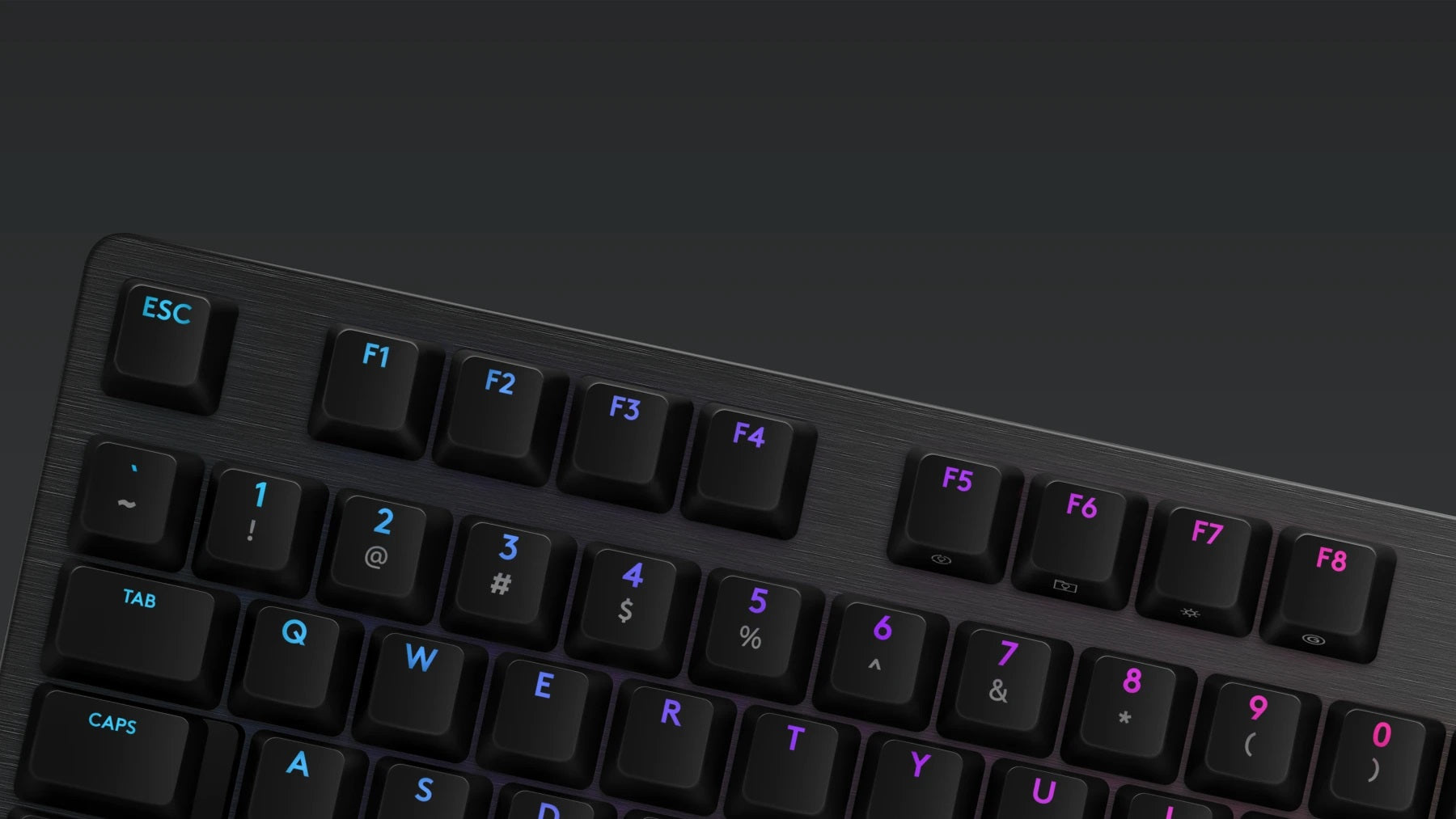DEDICATED GAMING FEATURES - Don't lose a game because you fat-fingered the Windows® key. Toggle game mode with FN+F8. Deactivate additional keys using Logitech G HUB. Store per-key RGB lighting profiles in the onboard memory for use on any system.